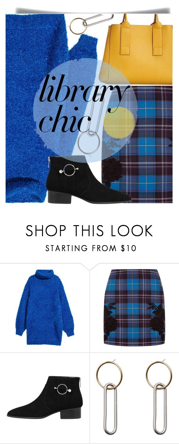 """""""Work Hard, Play Hard: Finals Season"""" by maranella ❤ liked on Polyvore featuring H&M, La Perla, MANGO and finals"""