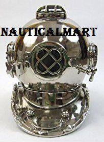 NauticalMart Scuba Diving Divers Helmet U.S Mark V Solid ... https://www.amazon.co.uk/dp/B0748BY8FQ/ref=cm_sw_r_pi_dp_x_qxl.zbX94VFVK #scubadivingequipmentwatches