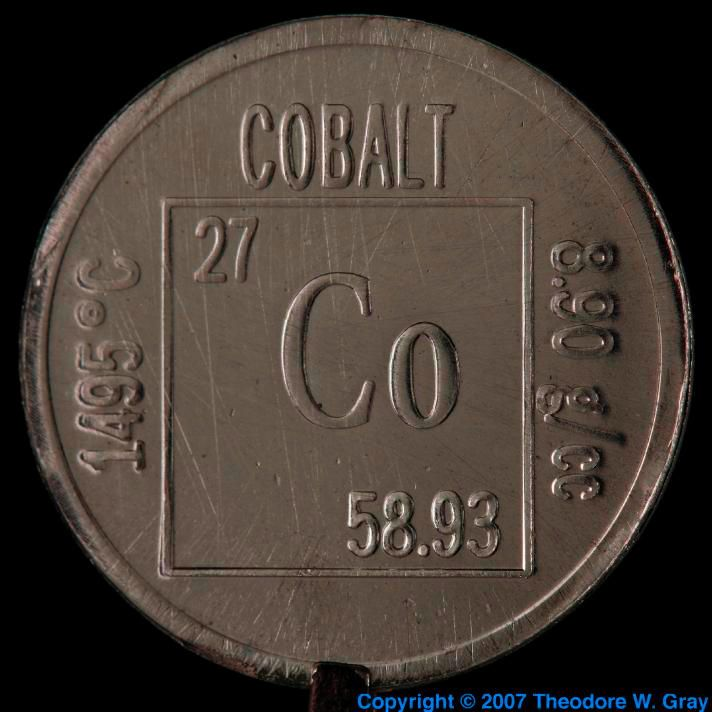 7 best The Element images on Pinterest Cobalt, Periodic table and - best of periodic table atomic number 7