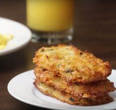How to Make Cheesy Baked Hash Brown Patties