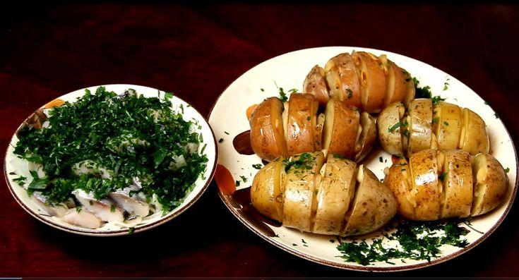 Очень вкусно. Картофель запеченный в духовке . РЕЦЕПТ