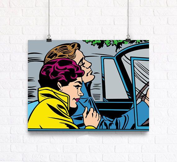 Decoración de la pared de Bon Voyage  Poster de cómic