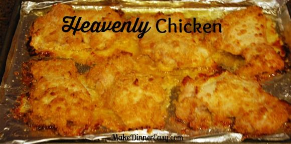 Moist, heavenly chicken.  That is what you get with this baked chicken breast recipe.