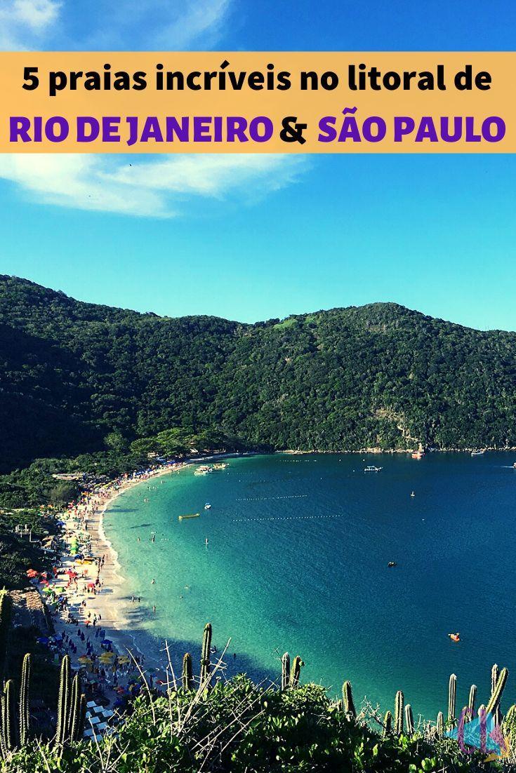 5 Praias De Tirar O Folego No Litoral Do Rio E Sao Paulo Praias