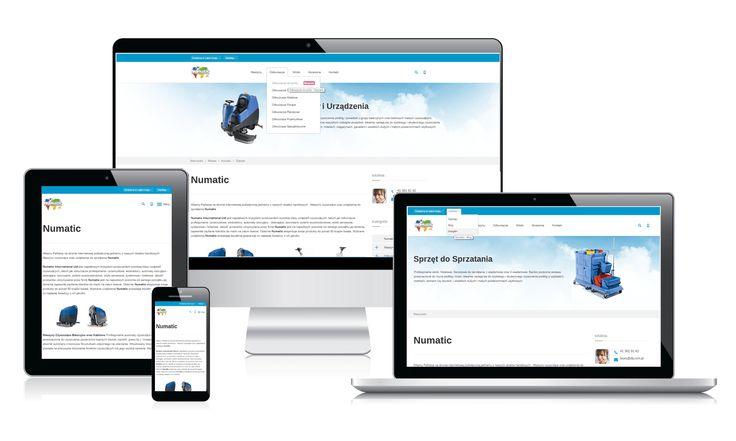 Nasza nowa strona z maszynami i urządzeniami marki Numatic w 4 wersjach na urządzenia PC , Laptopy , Tablety i telefony  http://www.maszyny.maxczysto.pl