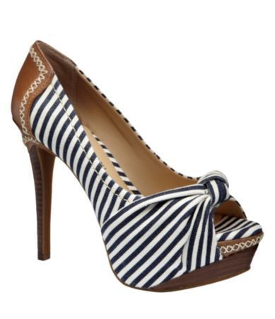 Gianni Bini Peep-Toe Platform Pumps