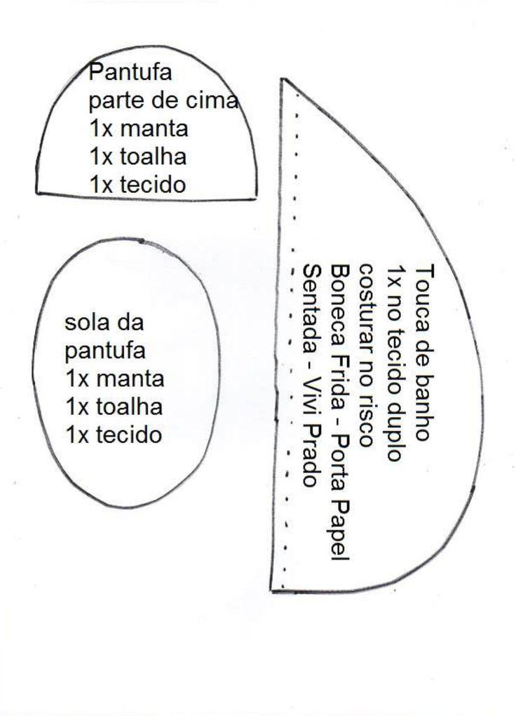 Boneca Frida porta rolo de papel 3