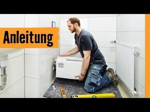 Wand-WC austauschen   HORNBACH Meisterschmiede - YouTube