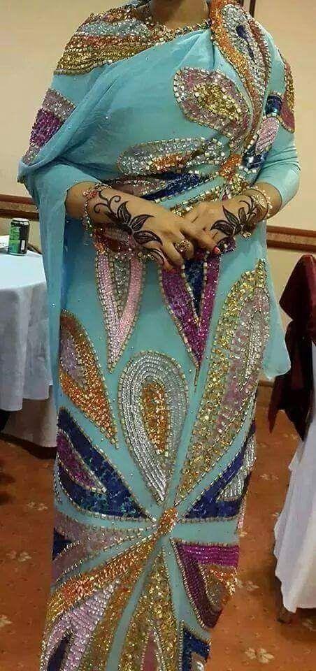 Sudanese Traditional Dress - الثوب السوداني