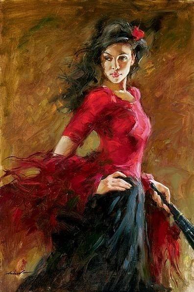 andrew atroshenko - flamenco dancer