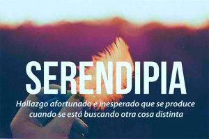Serendipia, azar, destino, magia, sal de la vida…