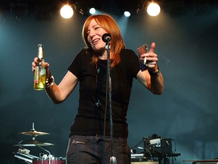 Beth Gibbons of Portishead. Simply amazing