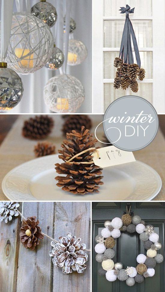 Holiday diy's are always the best. they are cute and fun and ...