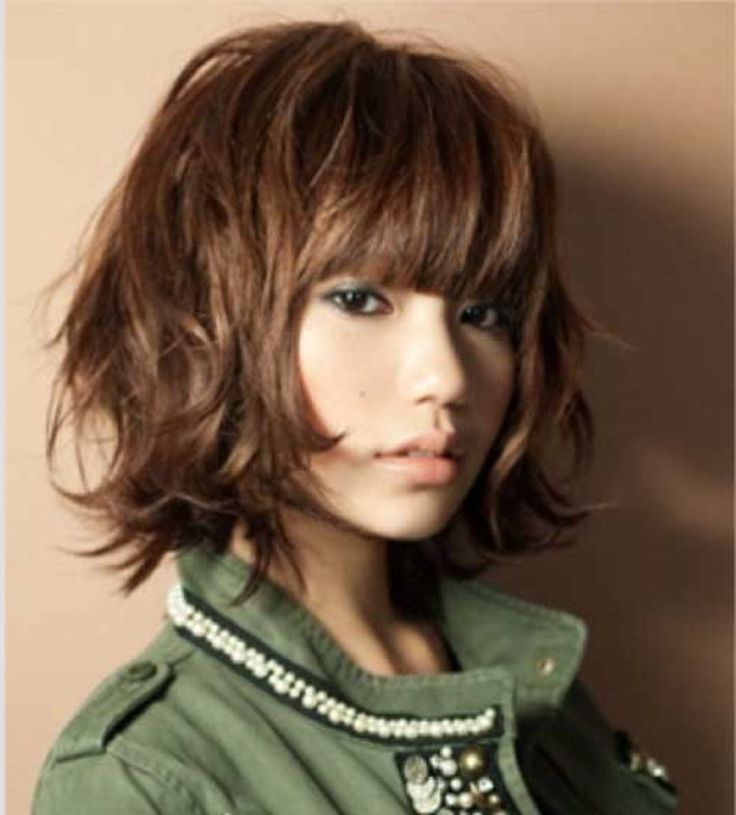medium haircuts for thick hair with bangs best 25 thick medium hair ideas on fall hair 5135