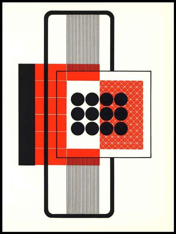 """The amazing Alvin Lustig, from his illustrations for """"The Ghost In The Underblows"""", an epic poem by Alfred Young Fisher. Lustig's illustrations were made using only typographical ornaments.Alfred Young, Graphics Art, Google Search, Ghosts, Illustration, Alvinlustig, Book Inspiration, Graphics Design, Alvin Lustig"""