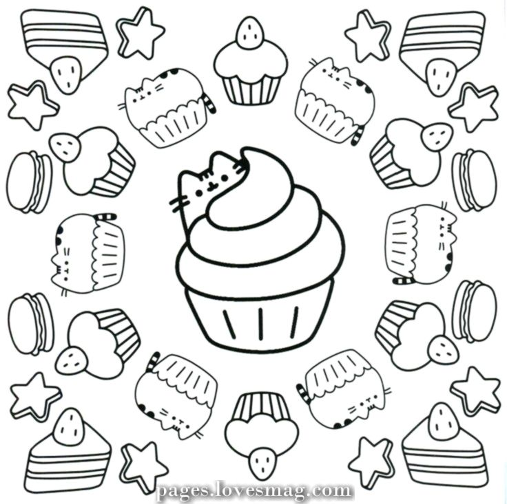 - Incredible Pusheen Coloring Pages Cupcake Coloring Pages, Pusheen  Coloring Pages, Unicorn Coloring Pages