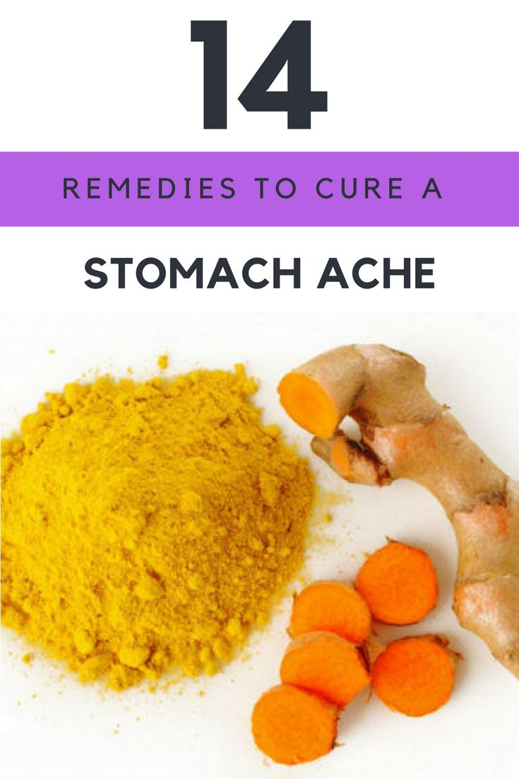 how to get rid of a stomach ache without medicine