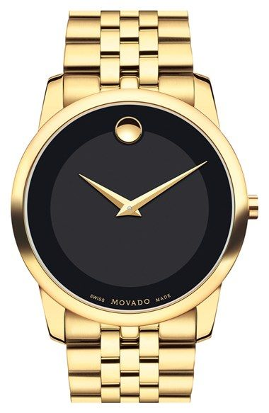 Movado'Museum' Bracelet Watch, 40mm available at #Nordstrom