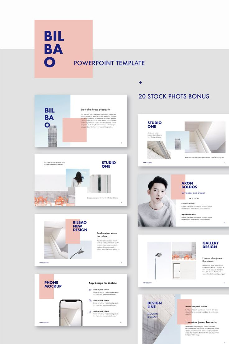 BILBAO – PowerPoint Template #75469