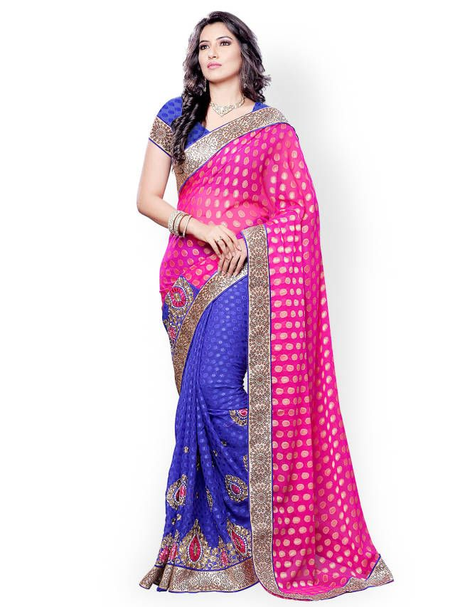 http://www.myntra.com/mailers/Embellished-Saree/Colors/Colors-Pink--Blue-Embroidered-Jacquard-Fashion-Saree/871384/buy
