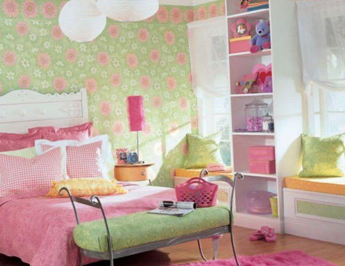 Best 25+ Girls bedroom wallpaper ideas on Pinterest | Bedroom ...