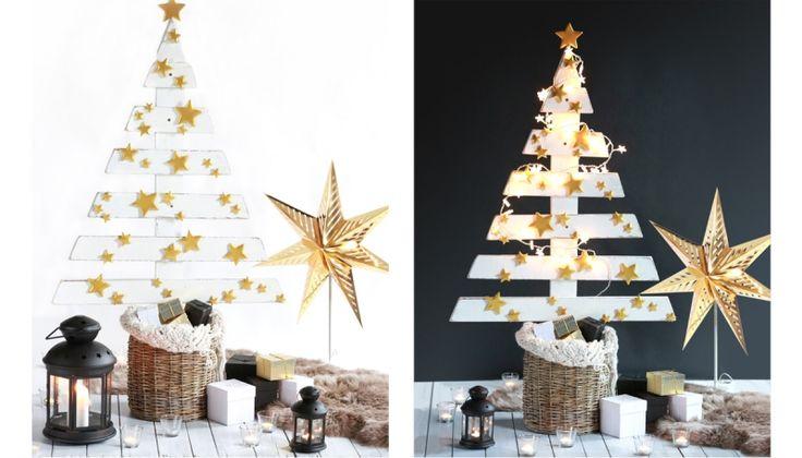 Návod: Vánoční stromeček z palet | Dům a byt