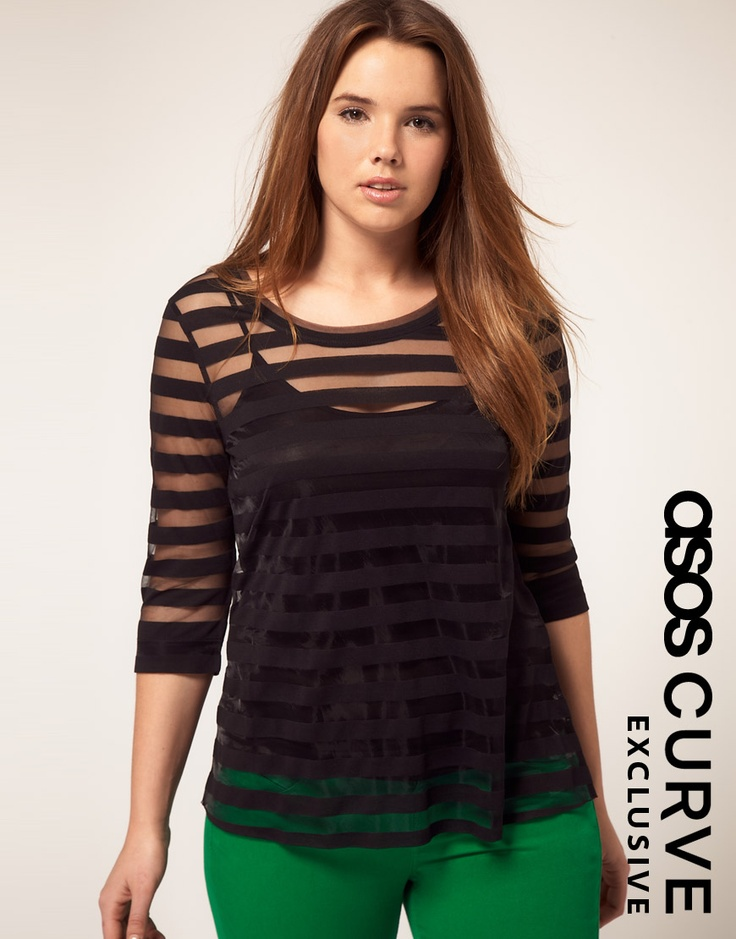 Top With Mesh Panel