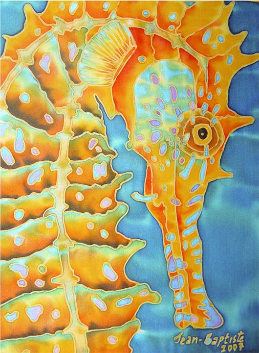 There's nothing better for a seahorse fan than finding gorgeous pieces of seahorse art or seahorse pictures to decorate your home.
