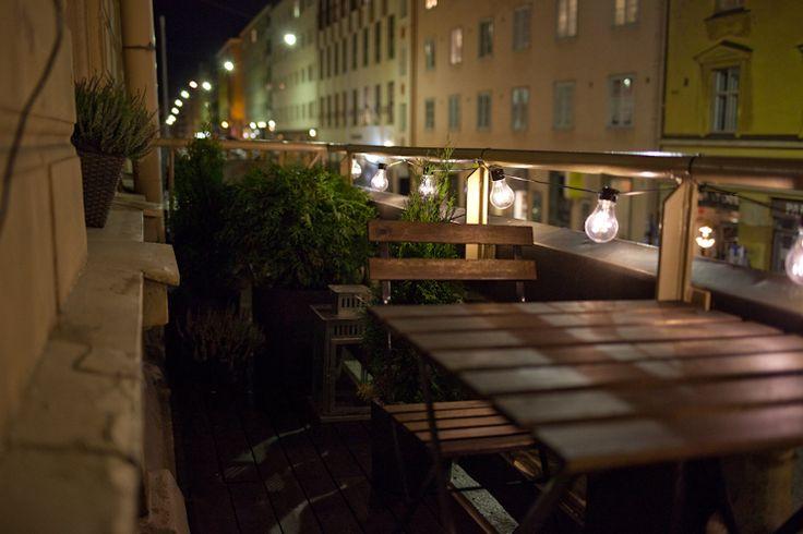 Helsinki, Punavuori, Pursimiehenkatu, balcony