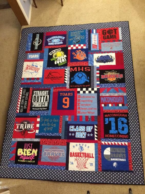 Projects From The Ultimate T-Shirt Quilt | Craftsy