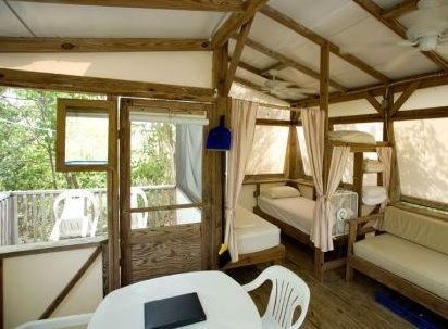 Maho bay st john usvi tent cottage camping travel for Tent cottage