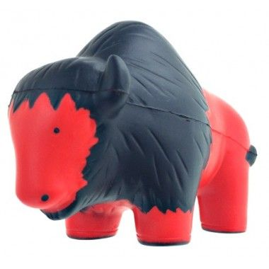This custom #buffalo stress toy is sure to turn heads when branded with your logo. Its unique look makes it a great squishy toy to gift.