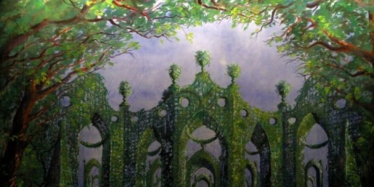 cinderella set design | Cinderella Garden - a set design