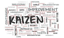 KAIZEN - małe kroki dużych zmian / prezentacja Prezi