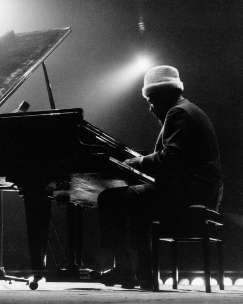 Thelonious Monk by Riccardo Schwamenthal