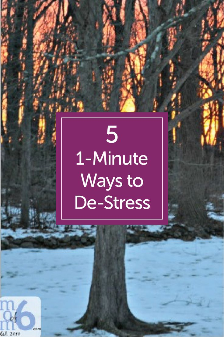 60 seconds to de stress today with these five 1 minute ways
