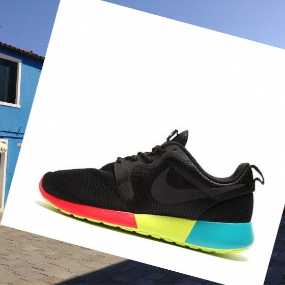 quite nice f8464 6e09c shop 2013 classico nike roshe run donna hyperfuse 3m nero rosso giallo.its  very beautiful