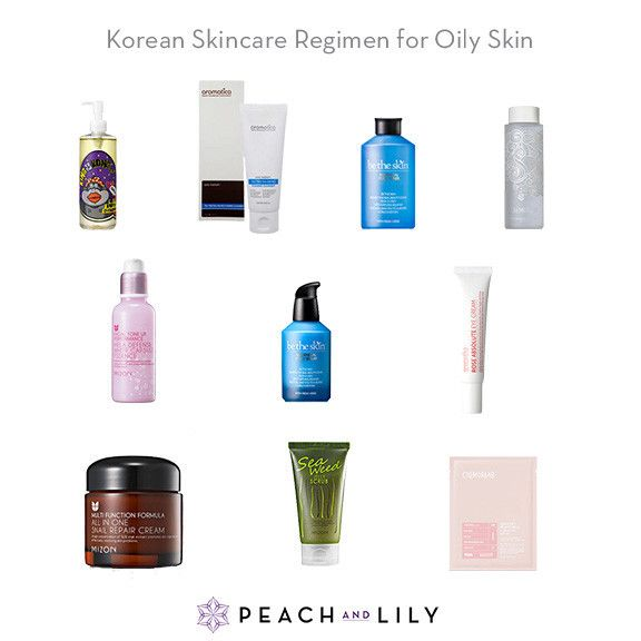 Korean Skincare Regimen: Oily / Acne-prone Skin