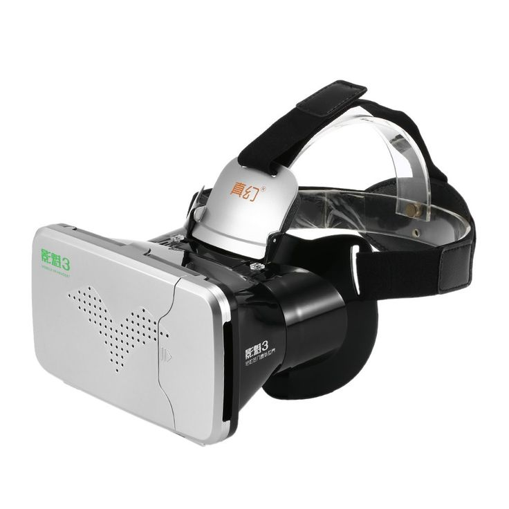 RIEM III RIEM3 VR Virtual Reality 3D Glasses Headset Head Mount Cardboard Mobile VR 3D Movie for 3.5 - 6 inches Smartphone //Price: $15.30//     #Gadget