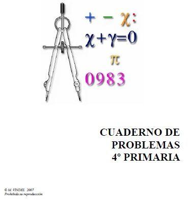 Cuadernos de problemas 4º primaria