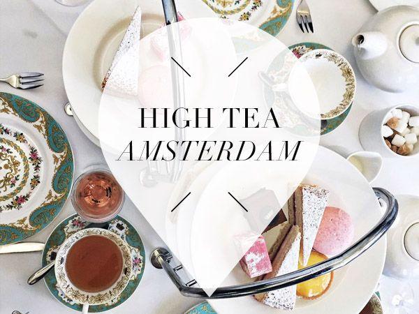 Dit zijn onze favoriete plekken voor een overheerlijke high tea in Amsterdam. Wat dacht je van The Duchess, De Bakkerswinkel en Het Waldorf Astoria?