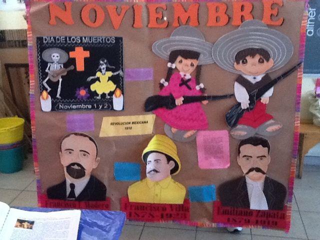 Periodico Mural De Noviembre Imagui Educaci N