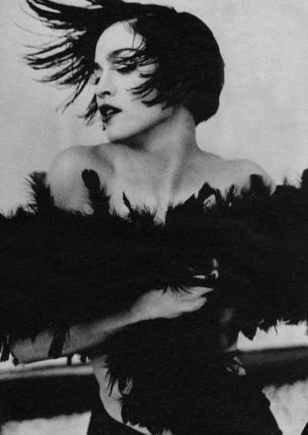 Madonna, photo by Herb Ritts, 1990.