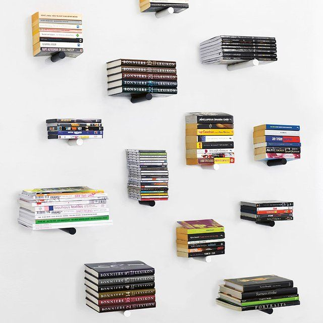 Fancy - Piniwini Wall-Mounted Peg Bookshelf