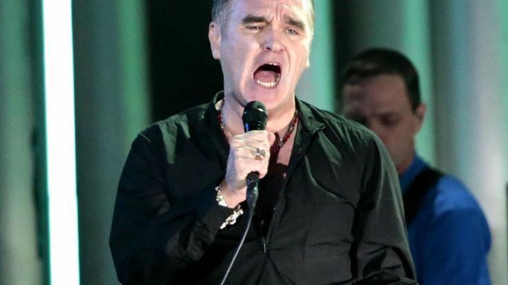Morrissey eist vegetarische gerechten in TivoliVredenburg