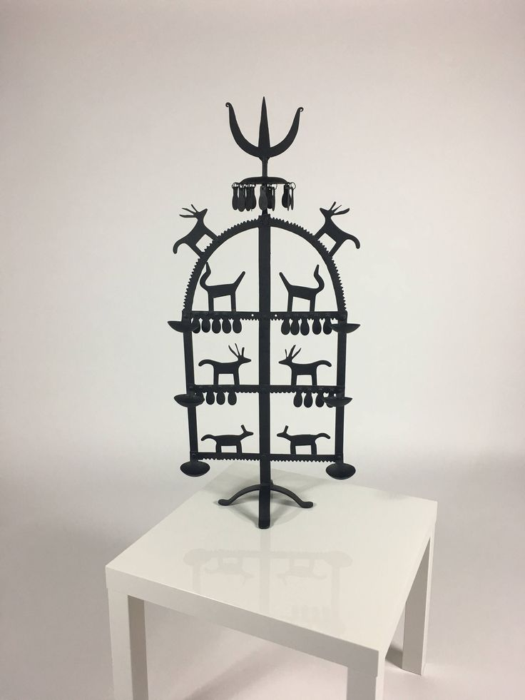 Wrought Iron Candle Holder, Black Candle Holder, Tall Candle Holder, Large Candle Holder, Votive Candle Holder, Fireplace Candelabra by IfLacquerCouldKill on Etsy