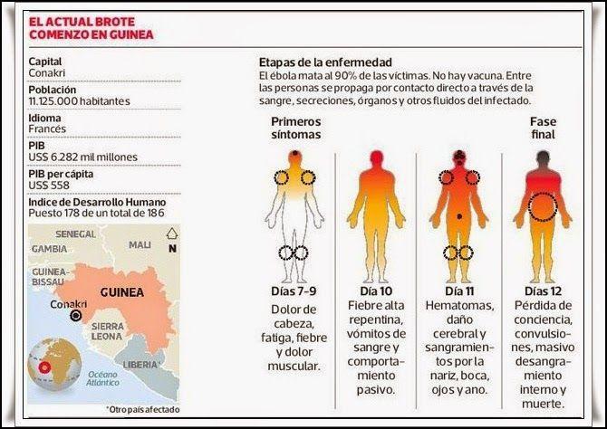 Las Revelaciones del Tarot: Diagnóstico de la Infección por Virus del Ébola