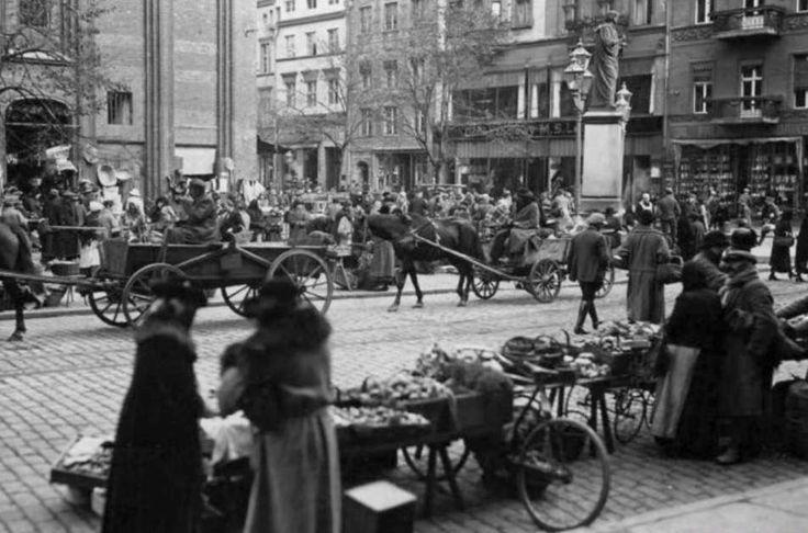 Tary Rynek - jarmark lata 1910
