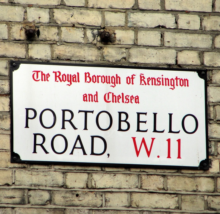 Portobello Road, London | #travel #cities #markets