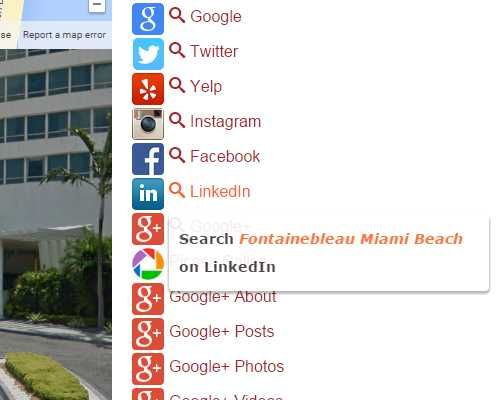 1der1 Demo page Social Searching